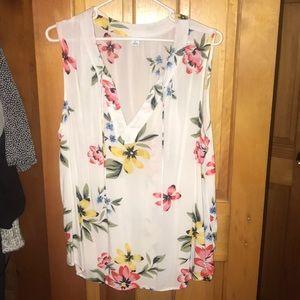 Floral Tank blouse‼️